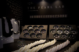 THE PEARL LAB stand at BIJORHCA