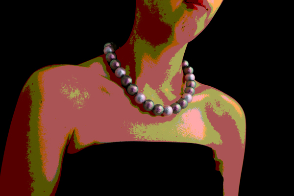Mixed Andromeda - Pearl Necklace